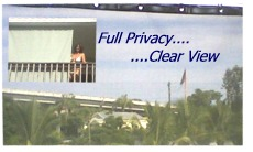 full privacy clear view